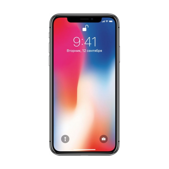 Apple iPhone X 256 ГБ «Серый космос» RFB