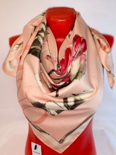 Шелковый платок Valentino арт 132