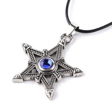 Кулон Звезда со шнурком