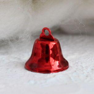 Аксессуар для куклы - Колокольчик красный 18 мм