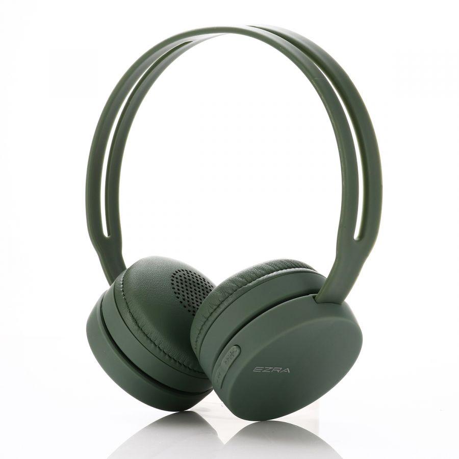 EZRA BW02 Зеленые наушники - гарнитура (bluetooth)