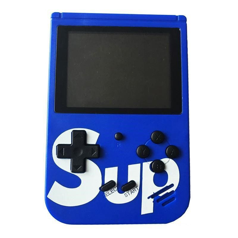 Портативная игровая приставка 8 bit SUP GAME BOX (синий)
