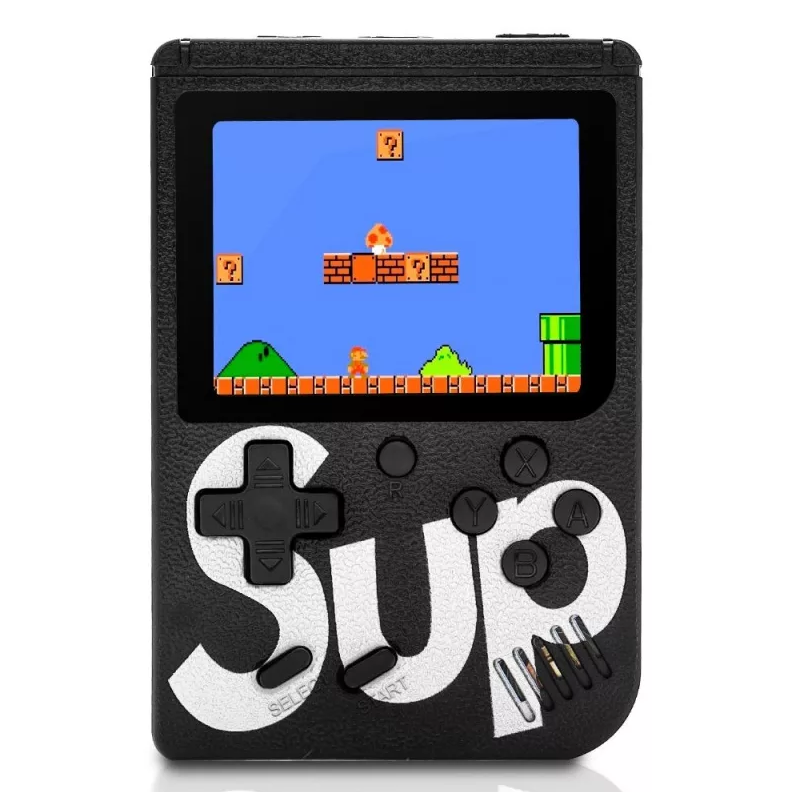 Портативная игровая приставка 8 bit SUP GAME BOX (черный)