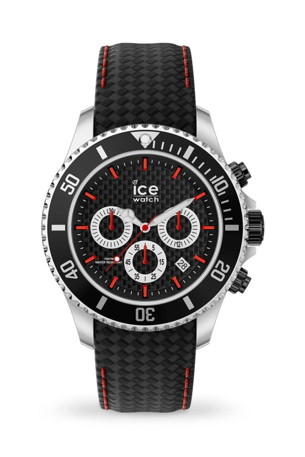 Ice Steel - Black racing Chrono