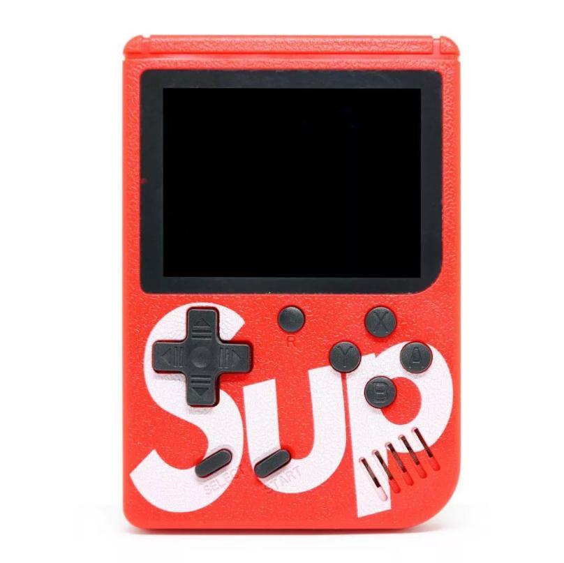 Портативная игровая приставка 8 bit SUP GAME BOX (красный)