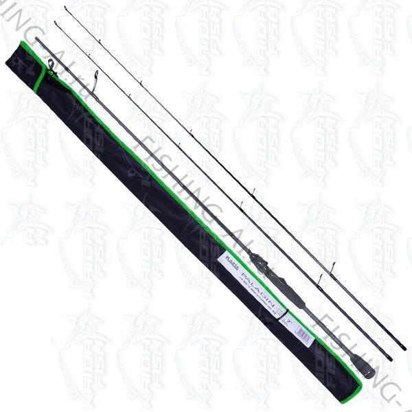 Cпиннинг Kaida Paladin 2.10 м тест 5-20 и 7-32 гр