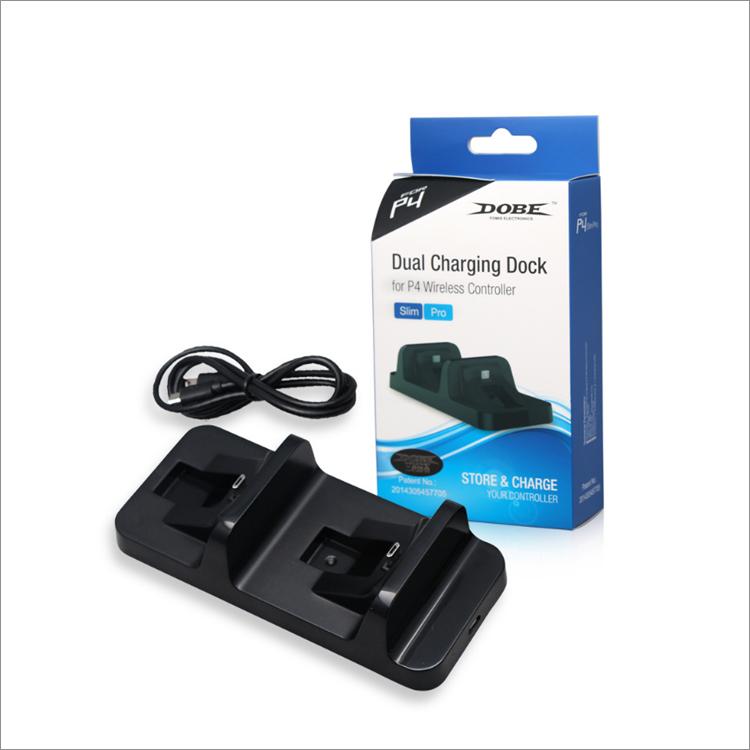 Dobe Зарядная станция для геймпадов Sony Dualshock 4 (TP4-002)