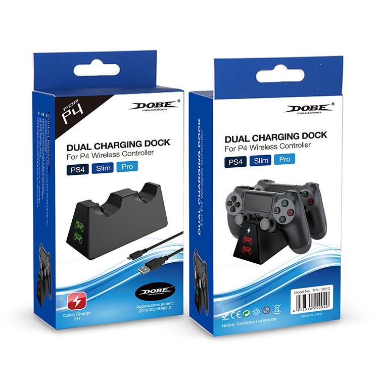 Dobe Зарядная станция для геймпадов Sony Dualshock 4 (TP4-19012)