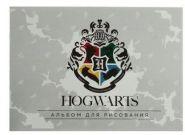Альбом для рисования А4, 12 листов на скрепке, «Гарри Поттер», обложка мелованный картон