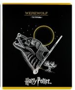 Тетрадь 48 листов в клетку «Гарри Поттер», обложка мелованный картон, тиснение фольгой
