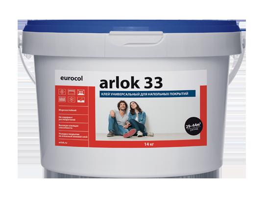 Водно-дисперсионный клей 33 Arlok  7 кг
