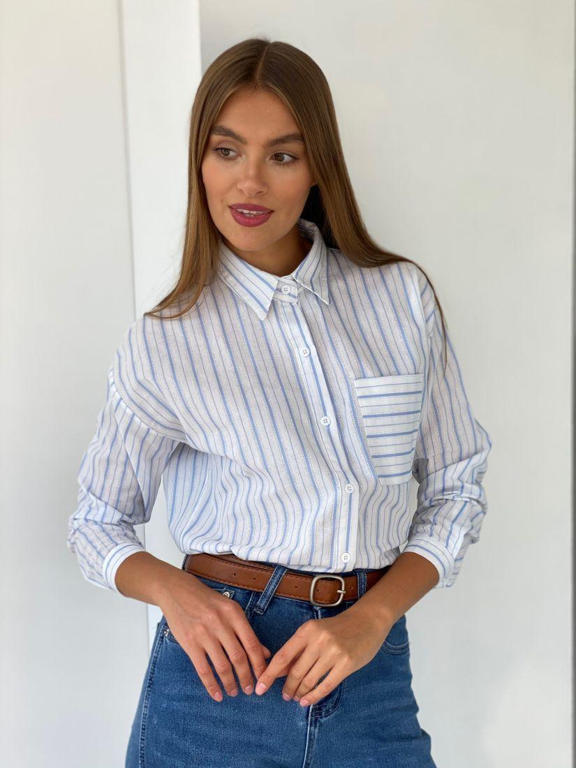 s2683 Рубашка в полоску