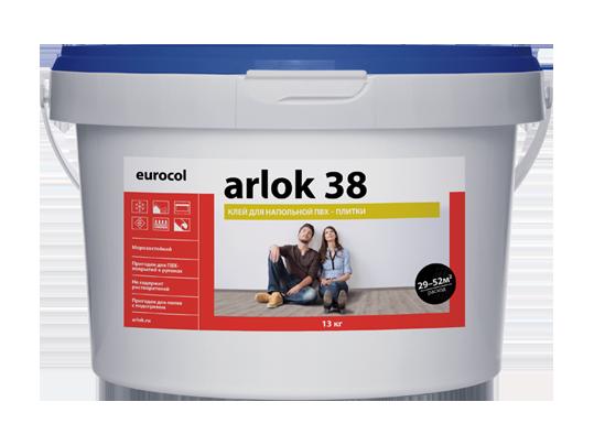 Водно-дисперсионный клей 38 Arlok 1,3 кг