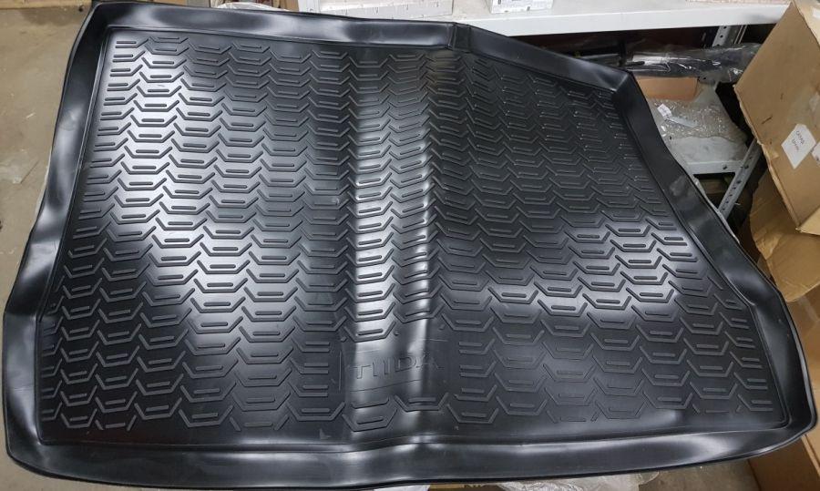 Коврик багажника полиуретановый NISSAN Tiida C13 2015- 999TLC13BL Nissan