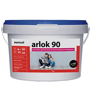 Шпатлевка дисперсионная многоцелевого применения Arlok 90 1.3 кг