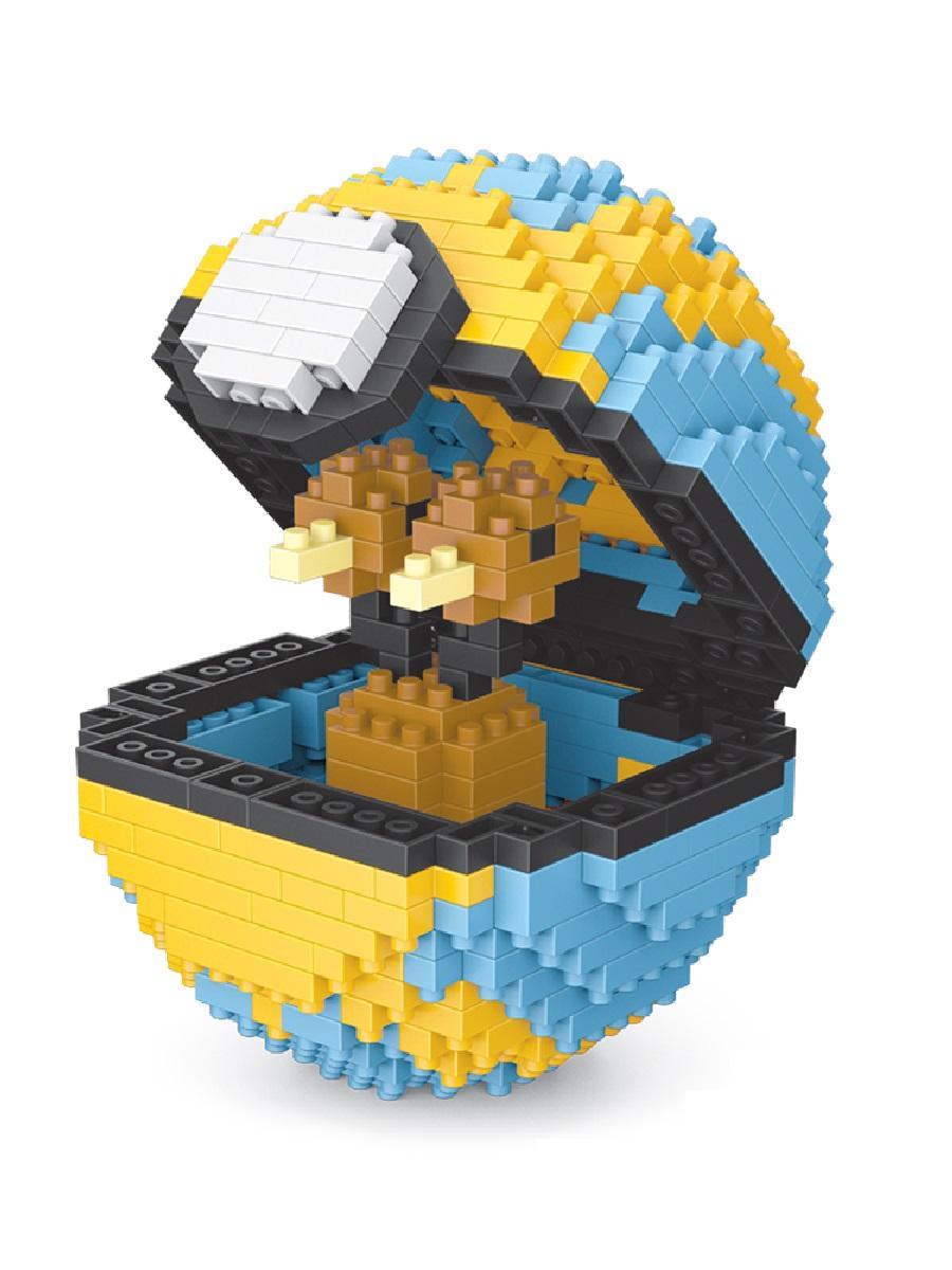 Конструктор Wisehawk & LNO Покемон бол Додуо 468 деталей NO. 309 Doduo Pokemon ball Series