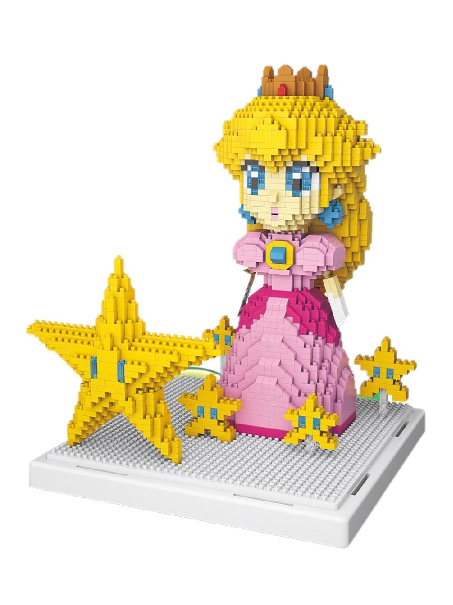 Конструктор Wisehawk & LNO Принцесса Пич 1484 деталей NO. 2508 Princess Peach Gift Series