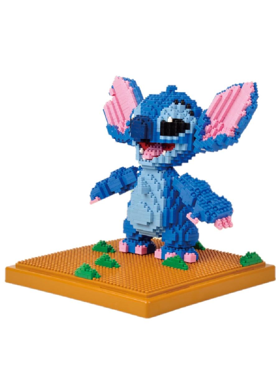 Конструктор Wisehawk & LNO Стич Большой 1680 деталей NO. 187 Stitch Big mini blocks Gift Series