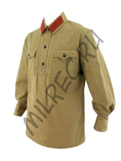 Гимнастерка (рубаха) хб рядового состава НКВД обр.1932/1935 г. (под заказ)