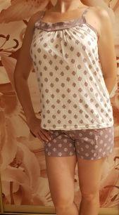 Пижама , модель 451, размеры 42_52,  хлопок 100%