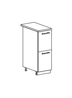 Шкаф нижний с 2 ящиками Юлия ШН2Я 300
