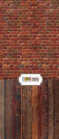 """Фон """"Red brick"""" 3х1,5(3.5x1.5)"""