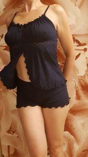 пижама с шортиками, модель 100, хлопок, размер 42_50