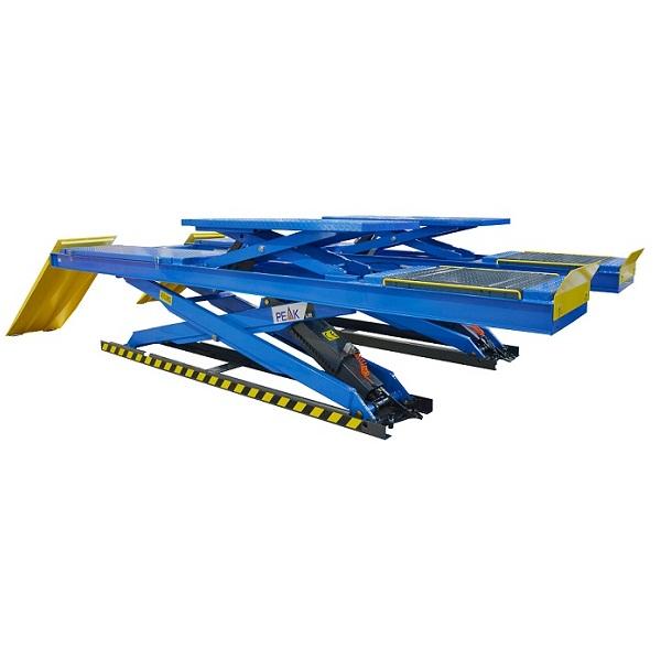 Подъемник ножничный  PEAK DX-4000A г/п 4 тонны, двухуровневый для сход-развала
