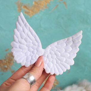 Кукольный аксессуар Крылья ангела голубые 10 см