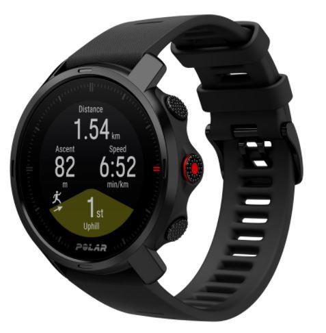 Мультиспортивные часы пульсометры Polar Grit X Black M-L