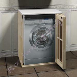 """Тумба  для стиральной машины """"Глазго-67 береза"""""""