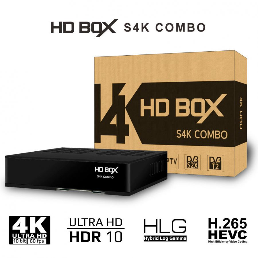 TV-тюнер HD BOX S4K Combo