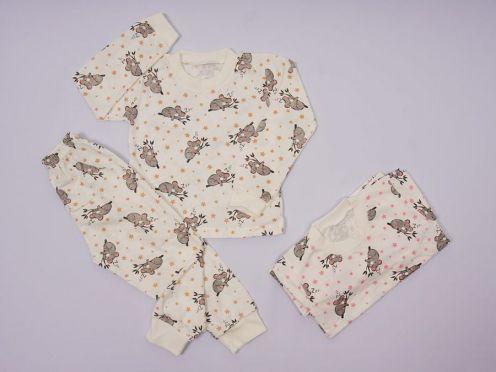 Пижама универсальная C-PJ023-SU / 100%хб супрем коала/ мал. размеры