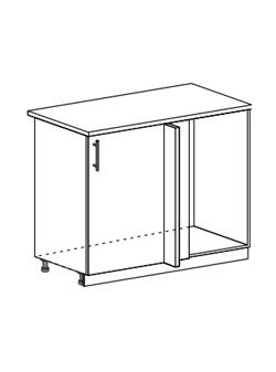 Шкаф нижний угловой стыковочный Юлия ШНУ 1000