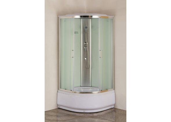 Душевая кабина Aquanet SC-900Q 900x900, рифленое стекло