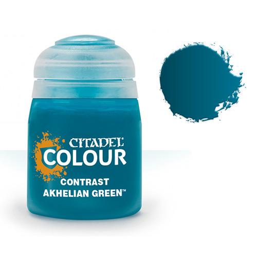 Контрастная краска Akhelian Green 29-19