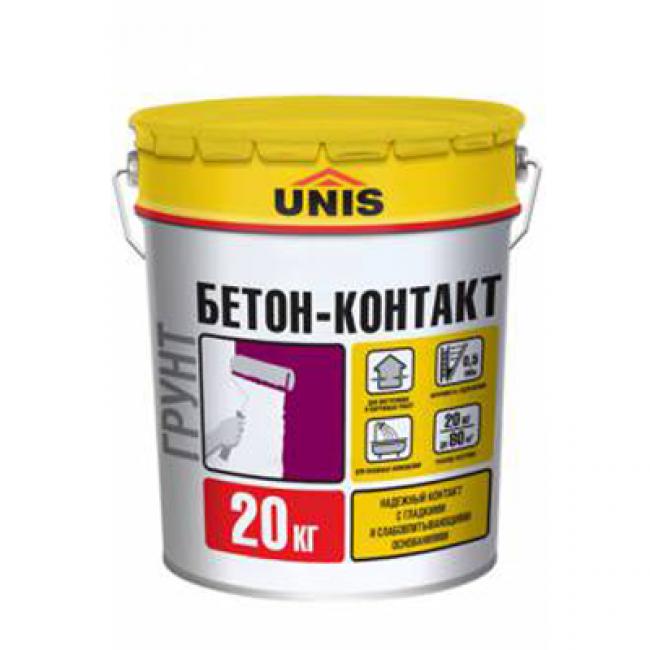 Бетон-контакт Юнис 20кг
