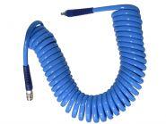 Шланг воздушный спиральный полиуретановый d10х14х10 м с металлическими БРС (евро) | TVK-09025