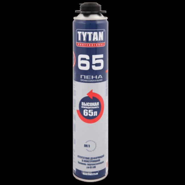 Пена монтажная Tytan Professional 65 профессиональная 750мл