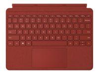 Клавиатура Microsoft Surface Go Signature Type Cover материал Alcantara (Poppy Red)