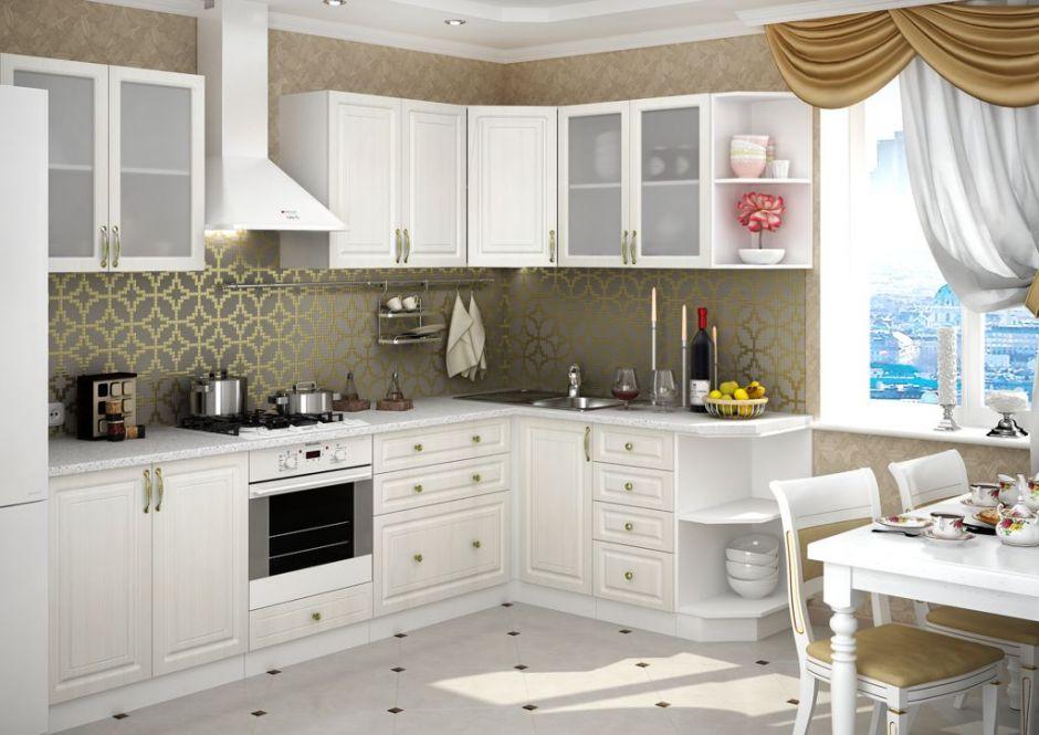 Кухня угловая Юлия (вариант 5)