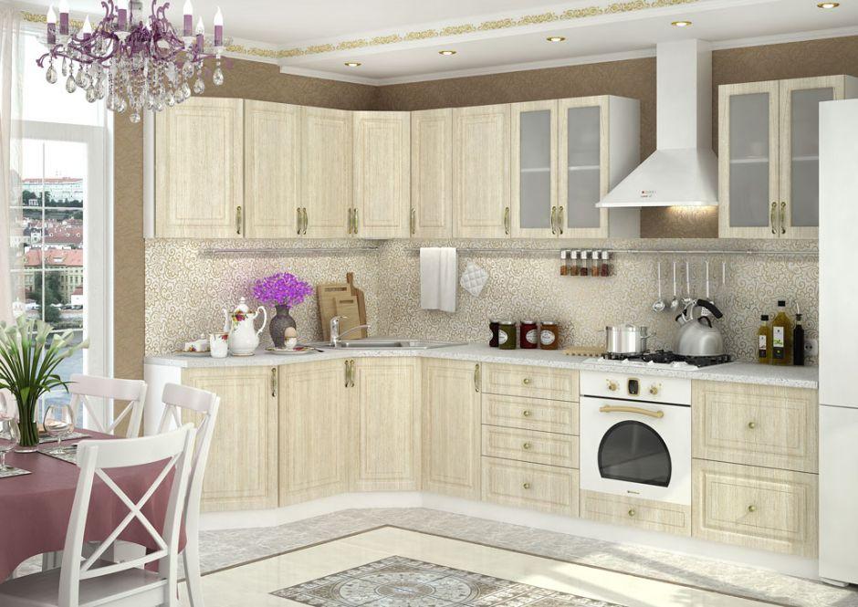 Кухня угловая Юлия (вариант 6)