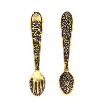 Кошельковый сувенир Ложка-загребушка