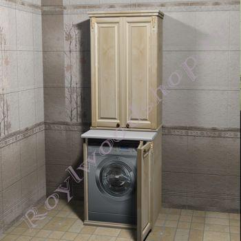 """Тумба и шкаф для стиральной машины """"Челси- 2- 67 береза"""""""
