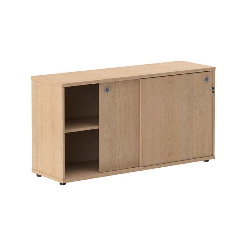 Шкаф низкий со слайд-дверьми «XLC 1443»