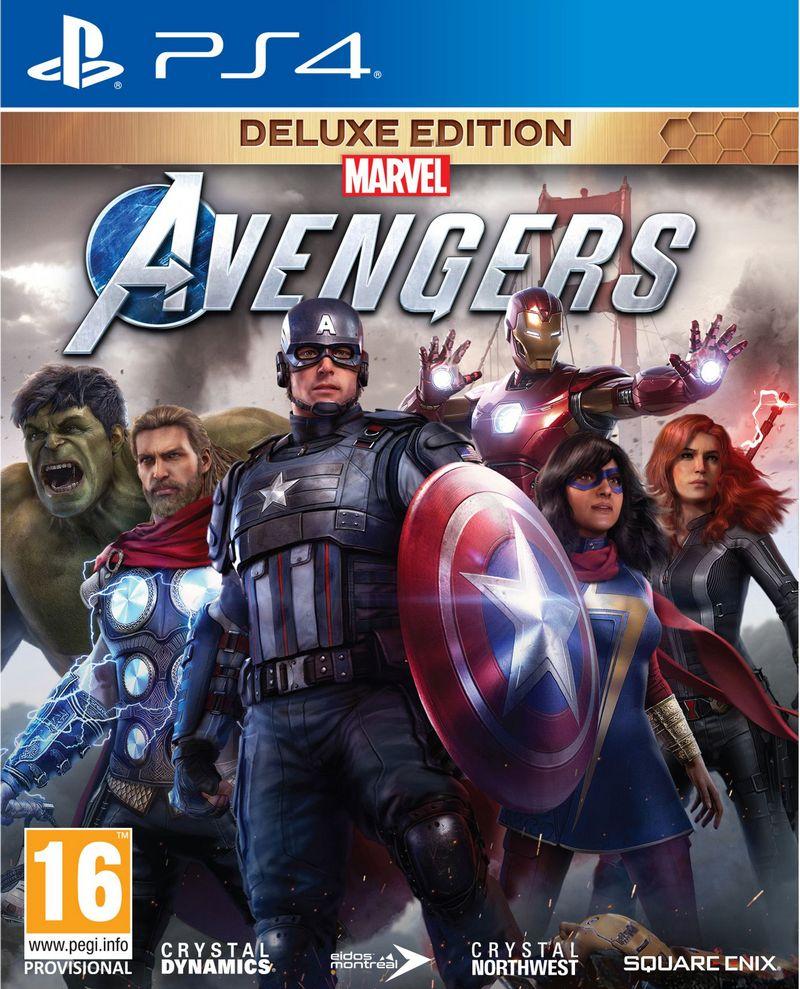 Игра Мстители Marvel. Издание Deluxe для PlayStation 4