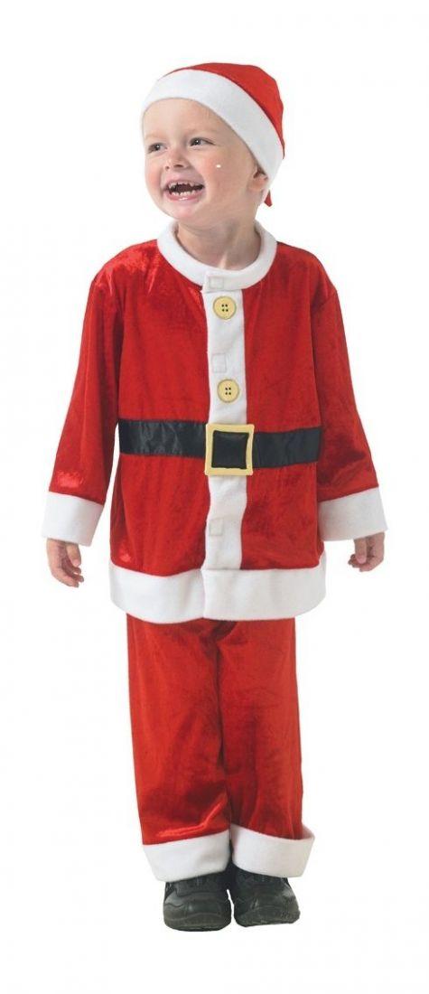Детский костюм маленького Санты