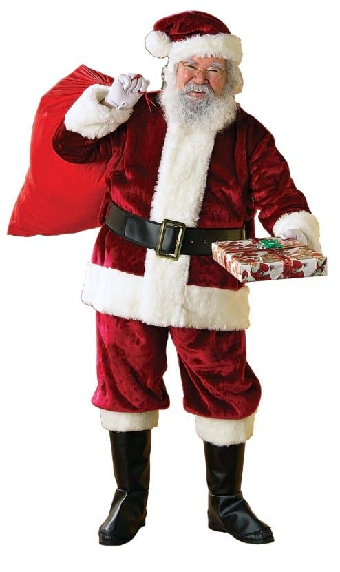 Взрослый костюм Санта Клауса