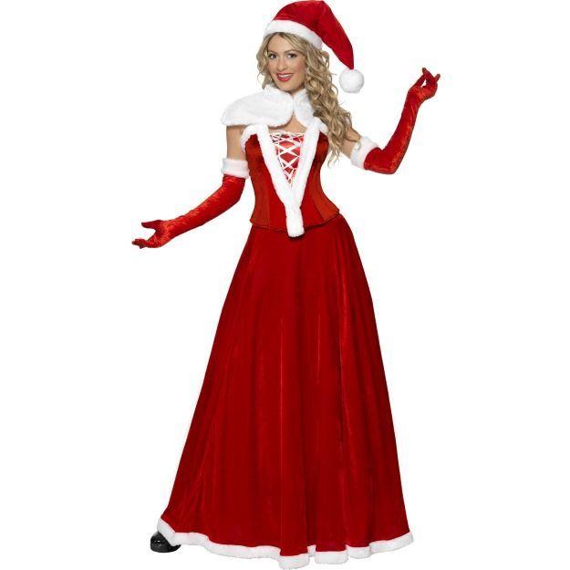 Роскошный костюм мисс Санты