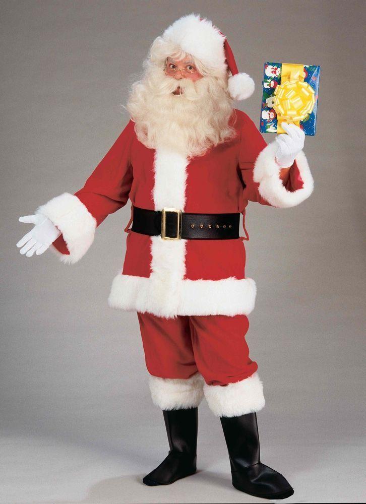Плюшевый костюм Санта Клауса